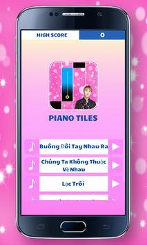 SƠN TÙNG Piano Tiles poster