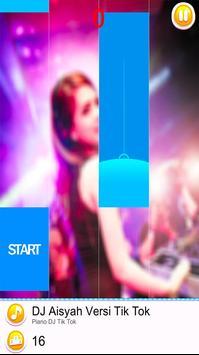 DJ TikTok Piano Tiles poster