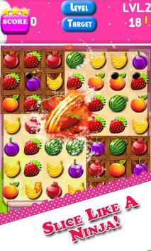 FRUIT Crush - Match 3 King poster