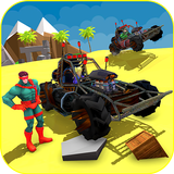 Superheroes Beach Buggy Xtreme Racing