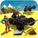 Superheroes Beach Buggy Xtreme Racing APK Android