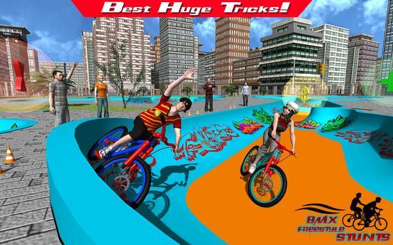 BMX Freestyle Stunts apk screenshot