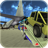 Offroad Jeep: Airplane Cargo icon