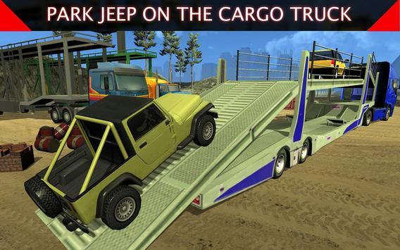 Offroad Jeep: Airplane Cargo apk screenshot