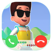 Fake Call From Paw Hero Patrol icon