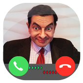 Fake Call From Mr Funny Bean icon