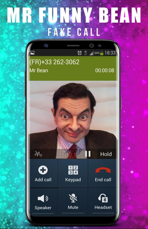 Fake call from mr funny bean apk download free tools app for fake call from mr funny bean apk screenshot solutioingenieria Choice Image