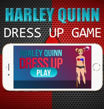 Harley Quinn Dress up Fashion poster