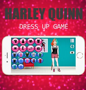Harley Quinn Dress up Fashion screenshot 3