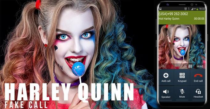Fake Call From Hot Harley quin poster