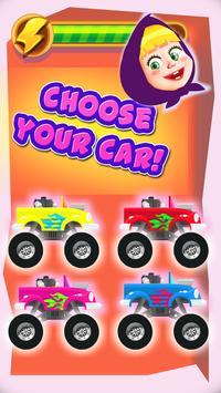Masha: Racing Car with The Bear 2018 screenshot 1