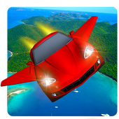 Flying Car Flight Simulator HD icon