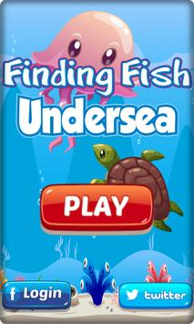 Finding Fish Undersea poster