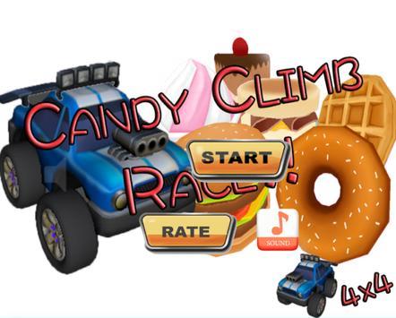 Candy Climb Race - 4x4 screenshot 1