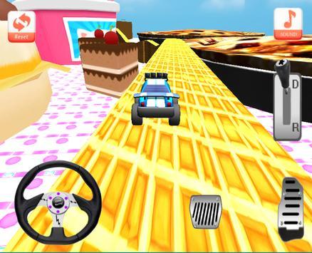 Candy Climb Race - 4x4 screenshot 8