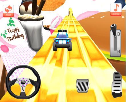 Candy Climb Race - 4x4 screenshot 9