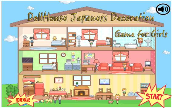 Doll House Japanese Decoration Poster Doll House Japanese Decoration Apk Screenshot