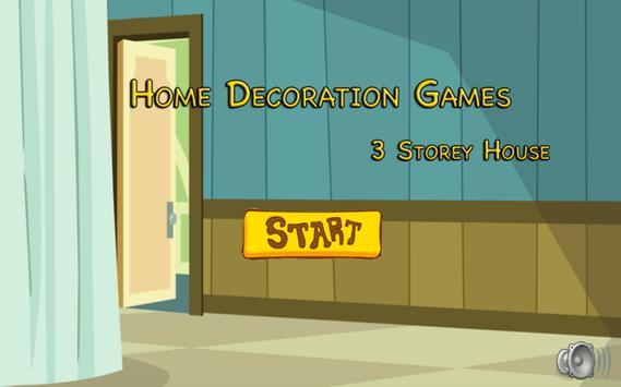 Home Decor Games poster