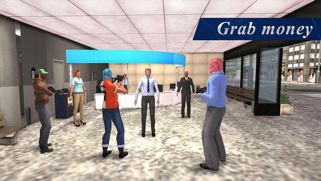 Bank Robbery Crime Simulator apk screenshot