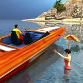 Beach Lifeguard Rescue Duty icon