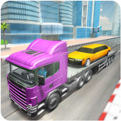 Limo Car Transporter Truck PRO icon