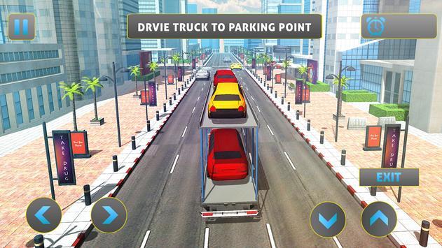 Limo Car Transporter Truck PRO apk screenshot