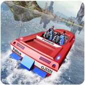Police Powerboat Transporter icon