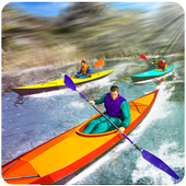 Raft Survival Race Game 3D icon