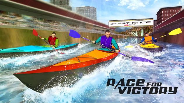 Raft Survival Race Game 3D poster