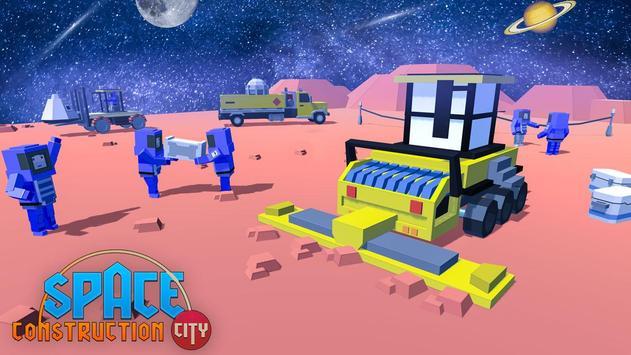 Space Construction City screenshot 13