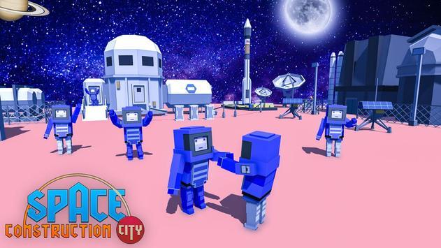 Space Construction City screenshot 17