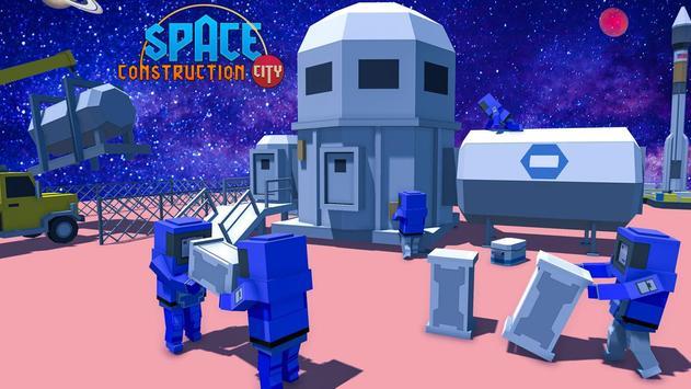 Space Construction City screenshot 4