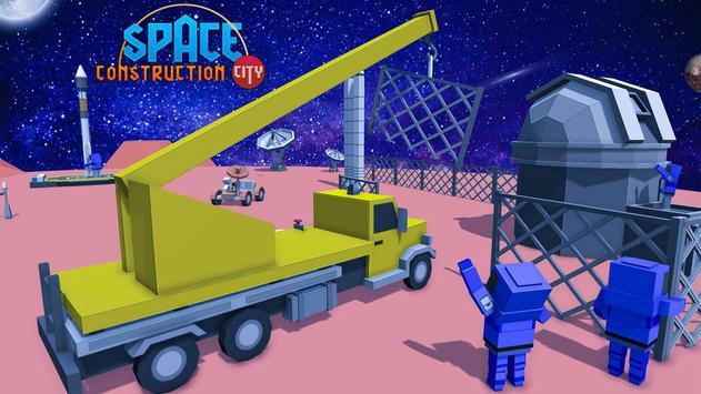 Space Construction City screenshot 9