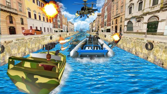 Venice Speed Boat Commando poster