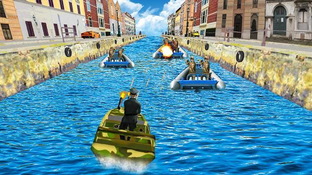 Venice Speed Boat Commando apk screenshot