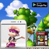 Masha and the bear game jump icon