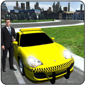 Modren City Taxi Driver 2016 icon