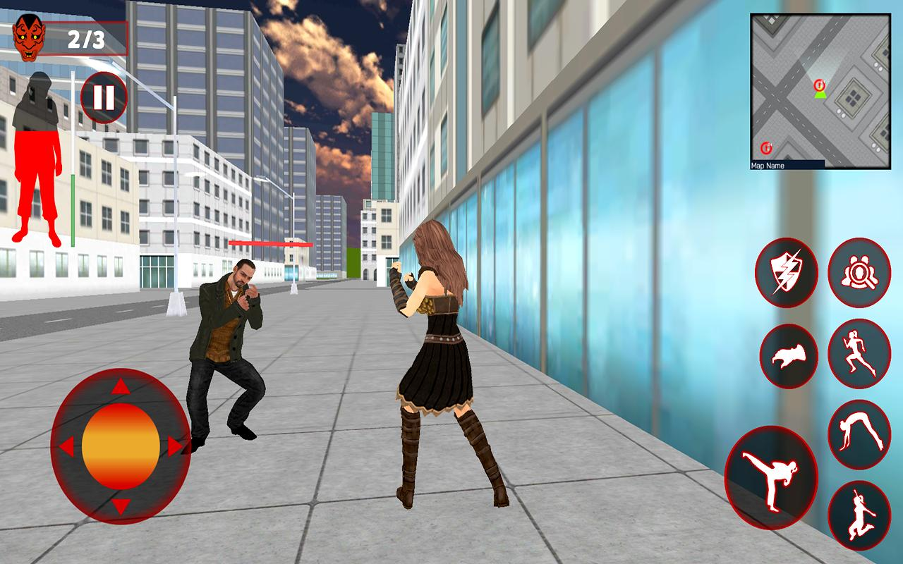 Mom Fight Crime Street 3D for Android - APK Download