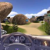 Cargo Truck Drive Hill Turbo icon