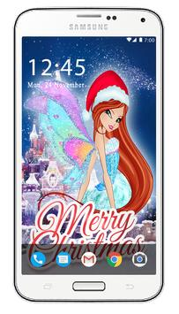 Christmas Winx Club Wallpapers HD screenshot 2