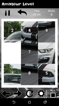 Supercars Shelby GT - New Fun Slide Puzzle screenshot 1