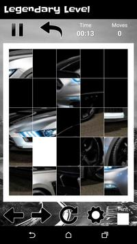 Supercars Shelby GT - New Fun Slide Puzzle screenshot 2