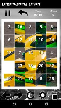 Supercars Shelby GT - New Fun Slide Puzzle screenshot 3