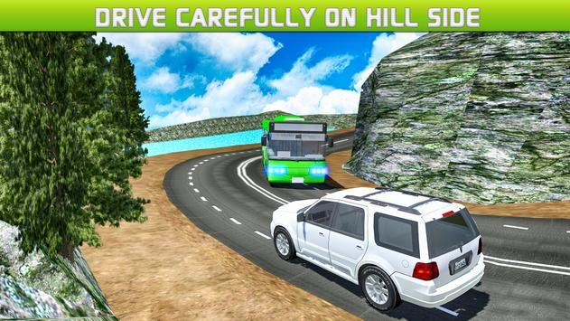 Driving Off Road Mountain Bus apk screenshot