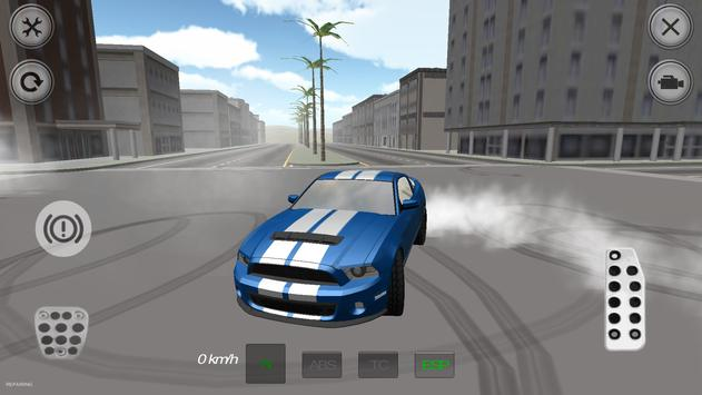 Extreme Muscle Car Simulator poster