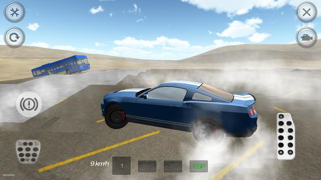 Extreme Muscle Car Simulator screenshot 2