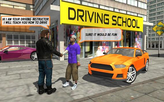 سيارة تعليم قيادة السيارات2018 تصوير الشاشة 4