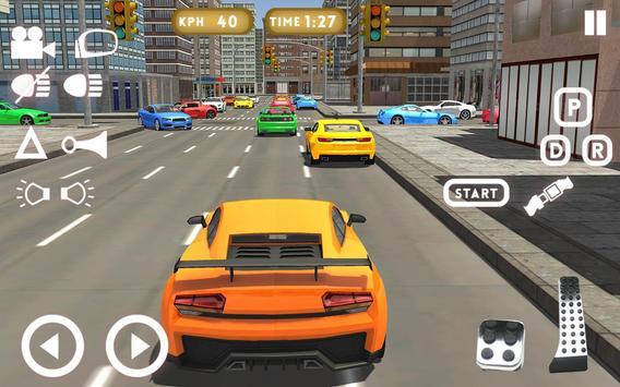 سيارة تعليم قيادة السيارات2018 تصوير الشاشة 5