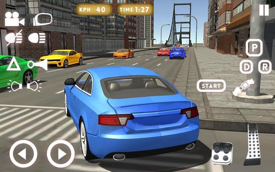 سيارة تعليم قيادة السيارات2018 تصوير الشاشة 1