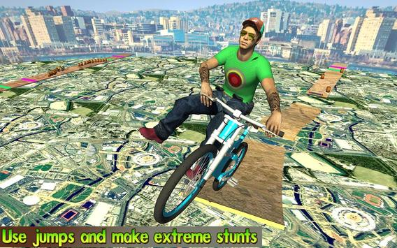 BMX Stunts Racer 2018 apk screenshot
